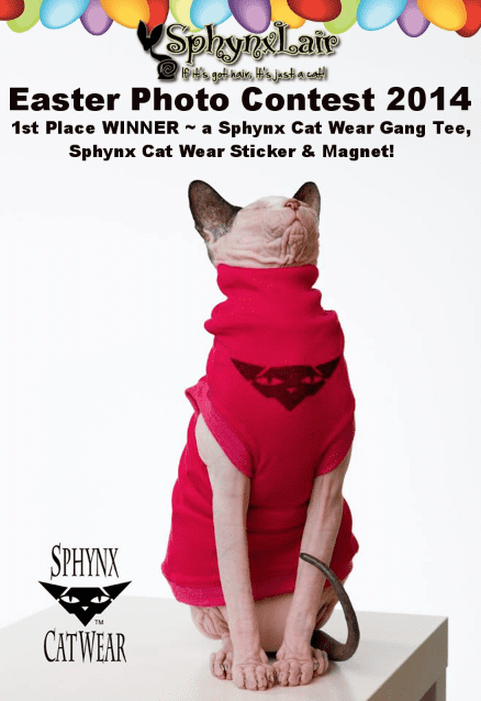 Sphynxlair Easter Contest 2014.png